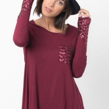 Casual sequined Loose Cotton Shirt B0015474