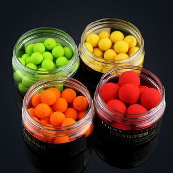 30pcs/box Shapes Boilies Carp Bait Floating Fishing Lure Artificial Baits Carp Fishing Fish Beads Pops Up Smell Ball