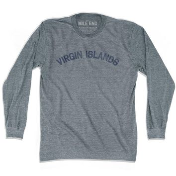 Virgin Islands City Vintage Long Sleeve T-shirt