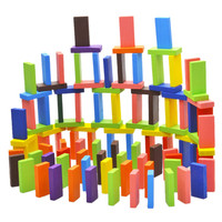 120Pcs/Set Mix 10 Colors Wooden Kids Children Domino Game Play Toys  Shop 88
