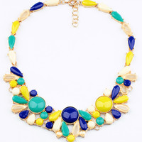 Multi Statement Bib Necklace