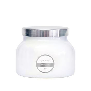 Volcano Signature White Jar
