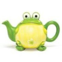 Adorable Toby The Toad Frog Teapot For Kitchen Decor And Teapot Collectors