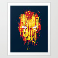 Iron Man Art Print by Budi Satria Kwan