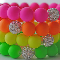 Summertime Neons Bracelets...Follow me for more:)
