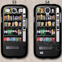 Vending Machine Samsung Galaxy S3 Case, Samsung Galaxy S4 Case, Hard Plastic Phone Cases, Please Choose Case Model