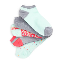 Printed Ankle Sock Pack