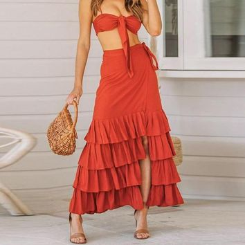 Mia Two-Piece Maxi Dress