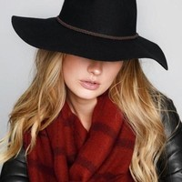 Barrett Black Wool Hat