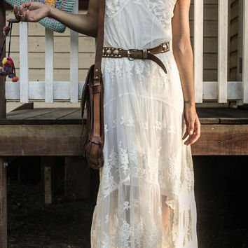 Ophelia Maxi Dress - Off White