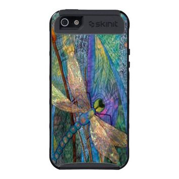 Colorful Dragonfly iPhone 5 Case from Zazzle.com