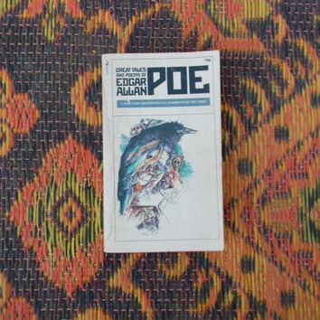 Vintage Edgar Allan Poe Paperback Stories and Poems Collection
