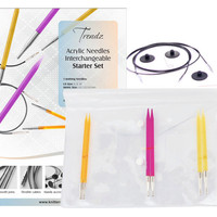 Knitters Pride Spectra Trendz Acrylic Interchangeable Starter Knitting Needle Set