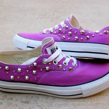 DCCK1IN orchid studded converse the converse vans look alike