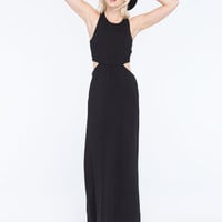 Billabong Hold On Me Maxi Dress Black  In Sizes