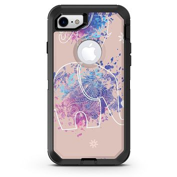 Fun Sacred Elephants - iPhone 7 or 8 OtterBox Case & Skin Kits