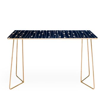 Heather Dutton Navy Entangled Desk
