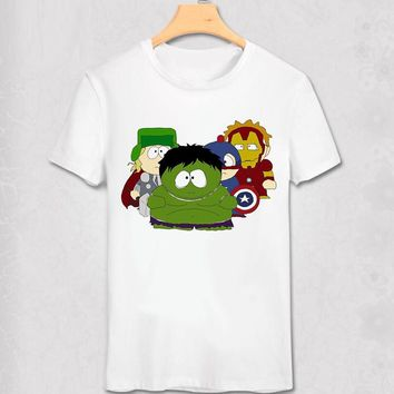 South Park - Super Heroes - Funny Geek Designs - Variety Shirt