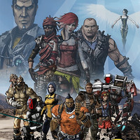 Borderlands 2 Poster by Thinkphar