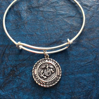 Marine Corp Expandable Charm Bracelets Adjustable Bangle Gift USA Military Jewelry Marines
