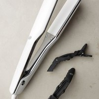 T3 SinglePass X Straightening & Styling Iron in White Size: One Size Hair