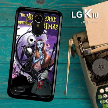 Jack And Sally Muertitos The Nightmare Before Christmas C0092 LG K10 2017 / LG K20 Plus / LG Harmony Case