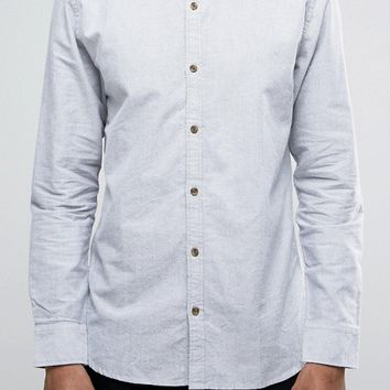 Only & Sons Shirt with Button Down Collar In Regular Fit at asos.com