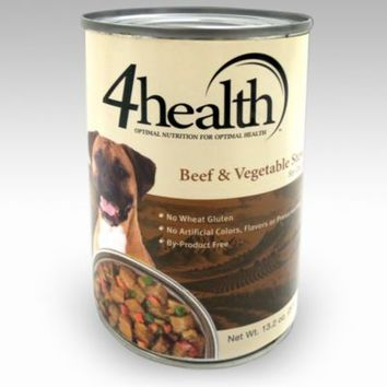 4health™ Beef & Vegetable Stew Dog Food, 13.2 oz.