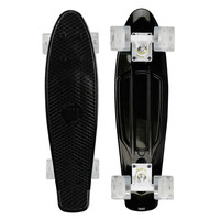 Mayhem Skateboard Black LED