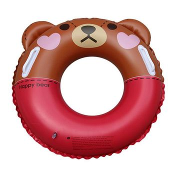 Swimming Pool beach Kids Swimming Ring Cartoon Beer Baby Inflatable Float Girls Float Inflatable Ring Water Pool Toys  AccessoriesSwimming Pool beach KO_14_1