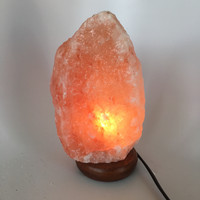 "Himalaya Natural Handcraft Rough Raw Crystal Salt Lamp, About 9""Tall, HL31"