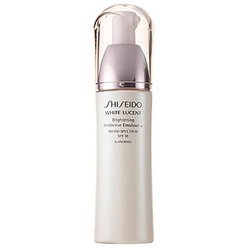 Shiseido White Lucent Brightening Protective Emulsion Broad Spectrum SPF 18 (2.5 oz)