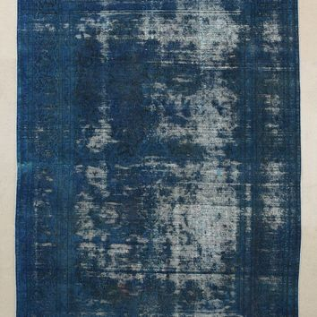 Vintage Indigo Overdyed Rug - Urban Outfitters