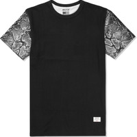 Black/Silver Mr. Metallic Snake T-Shirt