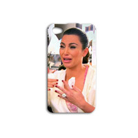 Kim Kardashian Funny Crying Custom Case for iPhone 5/5s and iPhone 4/4s