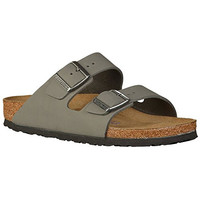 Birkenstock Womens Arizona Nubuck Leather Sandals