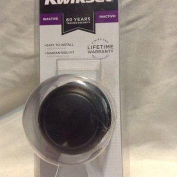 Kwikset Cove Venetian Bronze Half-Dummy door Knob 488CV 11P decoration inactive