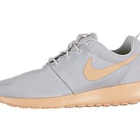 Nike Wmns Roshe Run Rosherun Grey Orang Chalk Womens Sportwear Shoes 511882-008