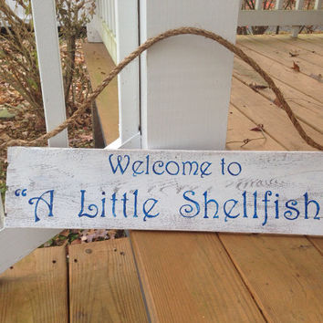 Custom Reclaimed Wood Sign;  Rustic Welcome Sign!