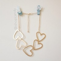 Heart Line Necklace
