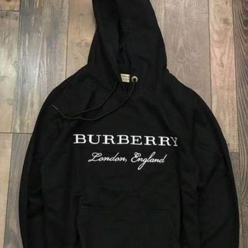 DCCKN6V Burberry Woman Men Fashion Embroidery Top Sweater Hoodie G