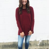Camilla Sweater - Burgundy