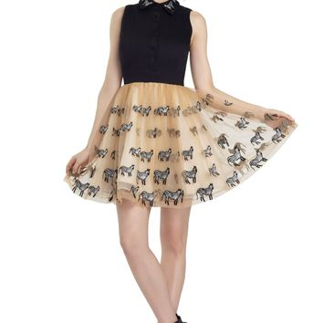 alice + olivia | PREENA POUF DRESS