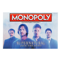 Supernatural Monopoly Board Game