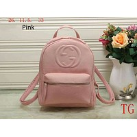GUCCI counter classic double G backpack backpack Messenger bag F-LLBPFSH Pink