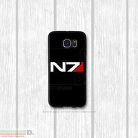 Mass Effect N7 Case, Custom Phone Case for Galaxy S4, S5, S6