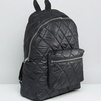 ASOS Quilted Backpack at asos.com