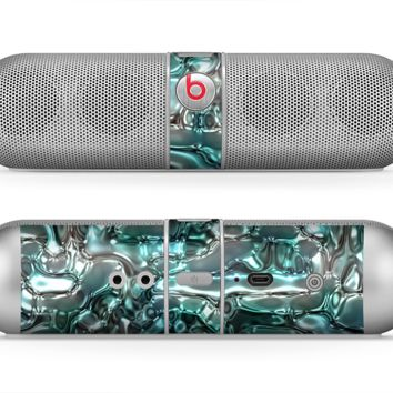 The Teal Mercury Skin for the Beats by Dre Pill Bluetooth Speaker