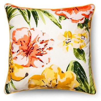 Threshold Floral Throw Pillow