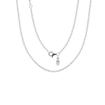 Silver China chain necklaces Authentic 925 Sterling Silver for Men Women Fine Jewelry Free shipping PYL004